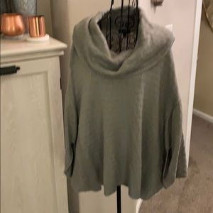 The Limited Sweater Poncho